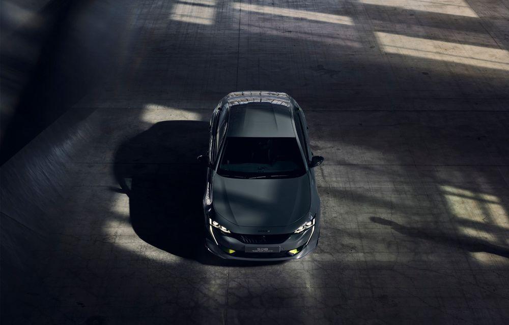 Peugeot prezintă conceptul 508 Sport Engineered: tracțiune integrală, autonomie de 50 km în modul electric și accelerație 0-100 km/h în 4.3 secunde: debut la Geneva - Poza 5