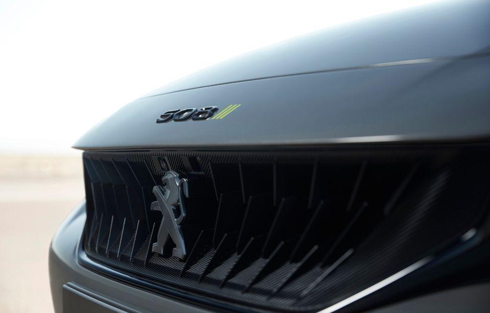 Peugeot prezintă conceptul 508 Sport Engineered: tracțiune integrală, autonomie de 50 km în modul electric și accelerație 0-100 km/h în 4.3 secunde: debut la Geneva - Poza 36