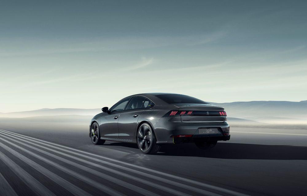Peugeot prezintă conceptul 508 Sport Engineered: tracțiune integrală, autonomie de 50 km în modul electric și accelerație 0-100 km/h în 4.3 secunde: debut la Geneva - Poza 24