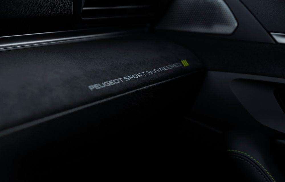 Peugeot prezintă conceptul 508 Sport Engineered: tracțiune integrală, autonomie de 50 km în modul electric și accelerație 0-100 km/h în 4.3 secunde: debut la Geneva - Poza 61