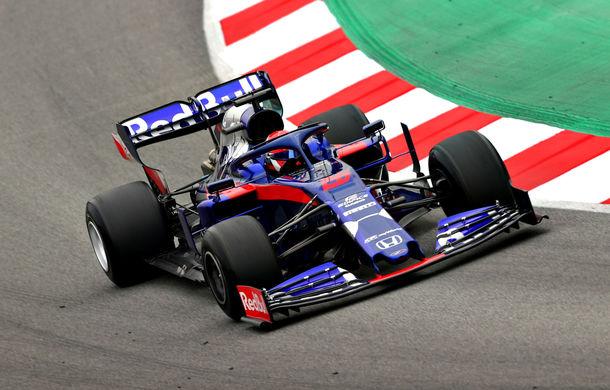 Kvyat îl învinge la limită pe Raikkonen în a treia zi de teste de la Barcelona: Mercedes, echipa cu cele mai multe tururi - Poza 1