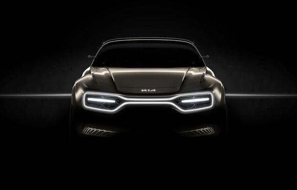 Kia va prezenta un concept 100% electric la Geneva: teaser cu prototipul ce va fi dezvăluit pe 5 martie - Poza 1