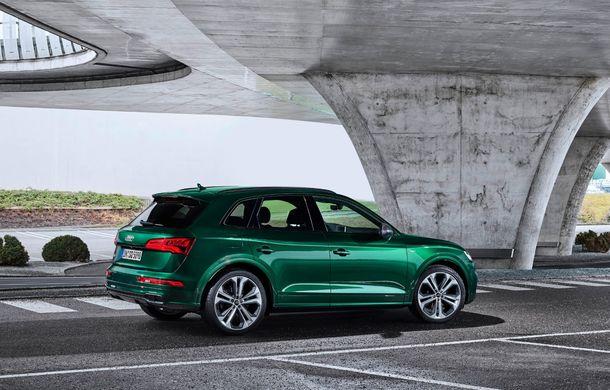 Audi introduce în gamă noul SQ5 TDI: motor diesel de 347 CP, compresor electric și tehnologie mild-hybrid - Poza 12