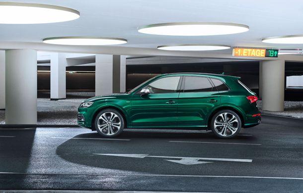 Audi introduce în gamă noul SQ5 TDI: motor diesel de 347 CP, compresor electric și tehnologie mild-hybrid - Poza 10