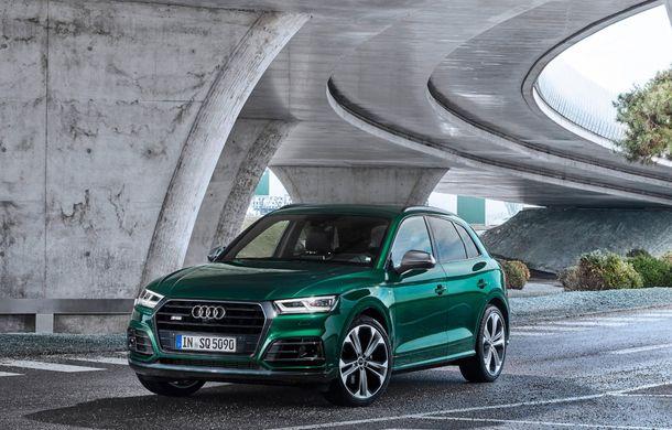 Audi introduce în gamă noul SQ5 TDI: motor diesel de 347 CP, compresor electric și tehnologie mild-hybrid - Poza 2