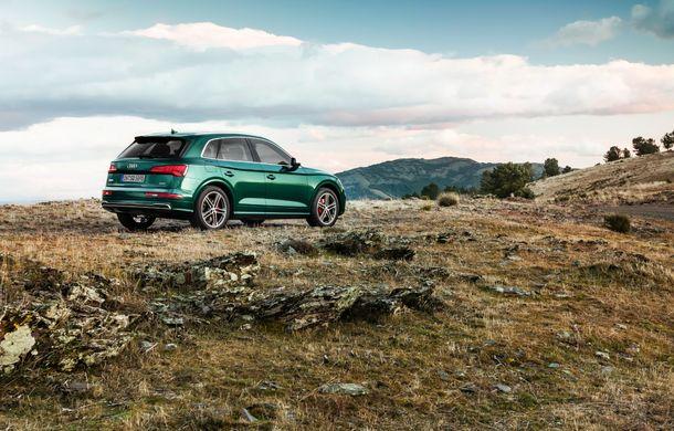 Audi introduce în gamă noul SQ5 TDI: motor diesel de 347 CP, compresor electric și tehnologie mild-hybrid - Poza 14