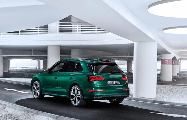 Audi introduce în gamă noul SQ5 TDI: motor diesel de 347 CP, compresor electric și tehnologie mild-hybrid - Poza 11