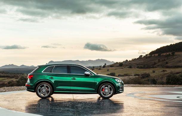 Audi introduce în gamă noul SQ5 TDI: motor diesel de 347 CP, compresor electric și tehnologie mild-hybrid - Poza 8