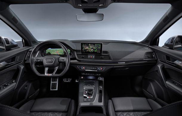 Audi introduce în gamă noul SQ5 TDI: motor diesel de 347 CP, compresor electric și tehnologie mild-hybrid - Poza 16