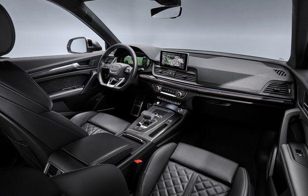 Audi introduce în gamă noul SQ5 TDI: motor diesel de 347 CP, compresor electric și tehnologie mild-hybrid - Poza 17