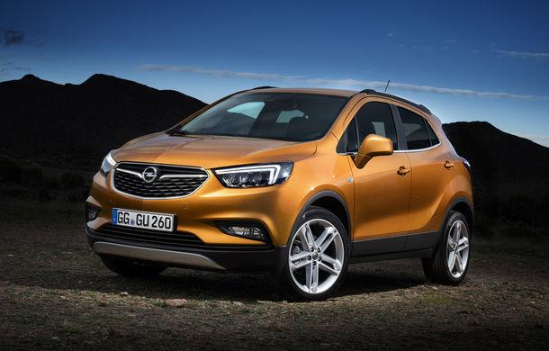 PSA va construi un nou SUV Opel în Franța: noua generație Mokka X, așteptată pe platforma CMP - Poza 1