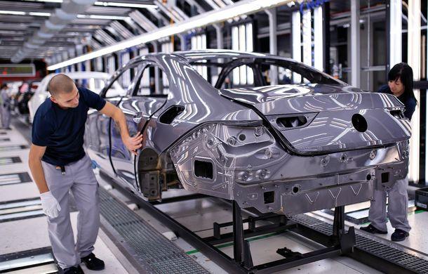 Mercedes-Benz a demarat producția noii generații CLA: modelul compact este asamblat în cadrul fabricii din Kecskemét, Ungaria - Poza 4
