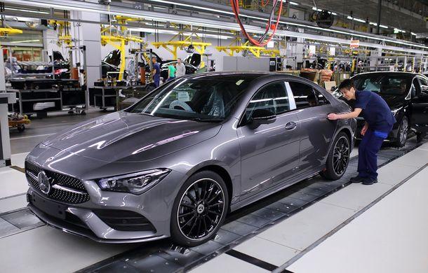 Mercedes-Benz a demarat producția noii generații CLA: modelul compact este asamblat în cadrul fabricii din Kecskemét, Ungaria - Poza 8