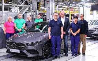 Mercedes-Benz a demarat producția noii generații CLA: modelul compact este asamblat în cadrul fabricii din Kecskemét, Ungaria