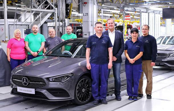 Mercedes-Benz a demarat producția noii generații CLA: modelul compact este asamblat în cadrul fabricii din Kecskemét, Ungaria - Poza 1