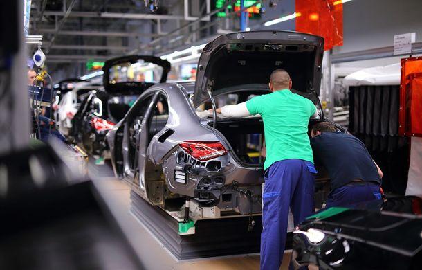 Mercedes-Benz a demarat producția noii generații CLA: modelul compact este asamblat în cadrul fabricii din Kecskemét, Ungaria - Poza 6