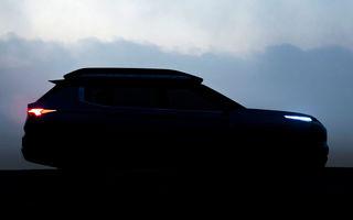 Un nou teaser cu viitorul Mitsubishi Engelberg Tourer: conceptul niponilor debutează la Geneva alături de SUV-ul ASX