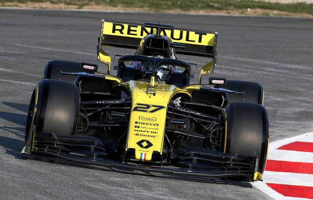 Renault încheie testele de la Barcelona pe primul loc: Hulkenberg, cel mai bun timp în ultima zi - Poza 1