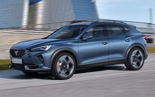 Cupra lansează conceptul Formentor: SUV-ul diviziei de performanță are un sistem de propulsie plug-in hybrid cu 245 CP