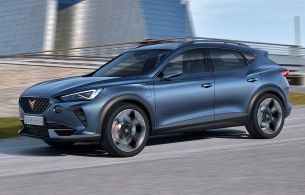 Cupra lansează conceptul Formentor: SUV-ul diviziei de performanță are un sistem de propulsie plug-in hybrid cu 245 CP - Poza 1