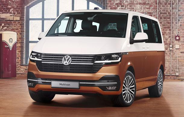 Volkswagen Multivan facelift: instrumentar digital de bord, numeroase sisteme de siguranță și versiune electrică dezvoltată cu ajutorul tunerului ABT - Poza 1