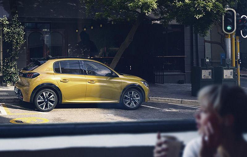 """Acesta este noul Peugeot 208: viitoarea generație a hatchback-ului de clasă mică, """"scăpată"""" pe internet înaintea debutului de la Geneva - Poza 4"""