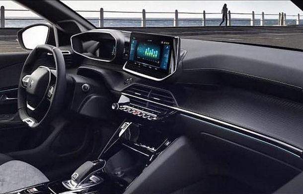 """Acesta este noul Peugeot 208: viitoarea generație a hatchback-ului de clasă mică, """"scăpată"""" pe internet înaintea debutului de la Geneva - Poza 7"""