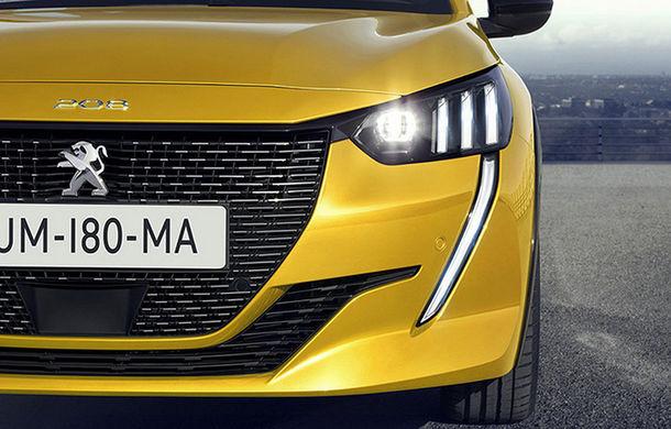 """Acesta este noul Peugeot 208: viitoarea generație a hatchback-ului de clasă mică, """"scăpată"""" pe internet înaintea debutului de la Geneva - Poza 2"""