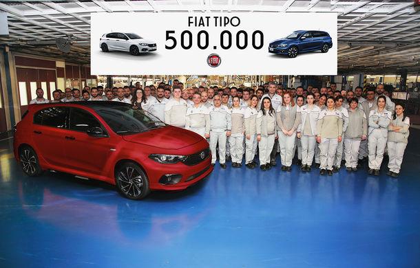Fiat a produs 500.000 de unități Tipo: borna a fost atinsă în doar 3 ani de la debut - Poza 1