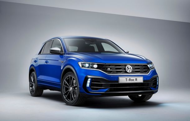 Volkswagen a prezentat noul T-Roc R: motor TSI de 2.0 litri cu 300 CP și 400 Nm, tracțiune integrală și 0-100 km/h în 4.9 secunde: debut la Geneva - Poza 11