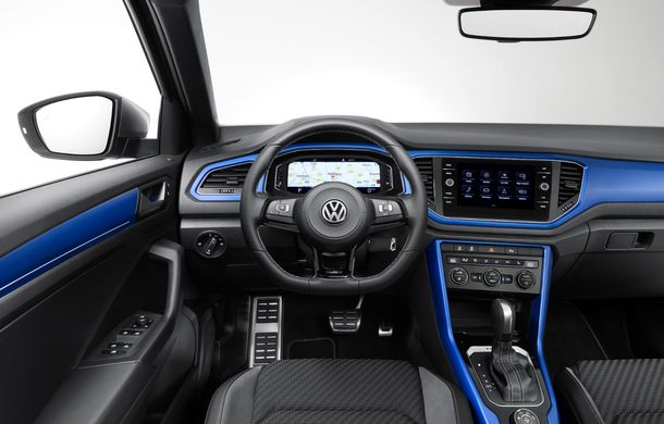 Volkswagen a prezentat noul T-Roc R: motor TSI de 2.0 litri cu 300 CP și 400 Nm, tracțiune integrală și 0-100 km/h în 4.9 secunde: debut la Geneva - Poza 22