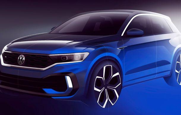 Volkswagen a prezentat noul T-Roc R: motor TSI de 2.0 litri cu 300 CP și 400 Nm, tracțiune integrală și 0-100 km/h în 4.9 secunde: debut la Geneva - Poza 2