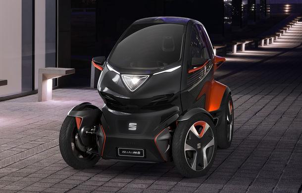Rival pentru Renault Twizy: Seat Minimo este un concept de cvadriciclu electric cu autonomie de 100 de kilometri - Poza 1