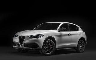 """Alfa Romeo va lansa noul Stelvio Ti la Geneva: italienii vor prezenta și ediția limitată """"Racing"""" pentru Giulia QV și Stelvio QV"""