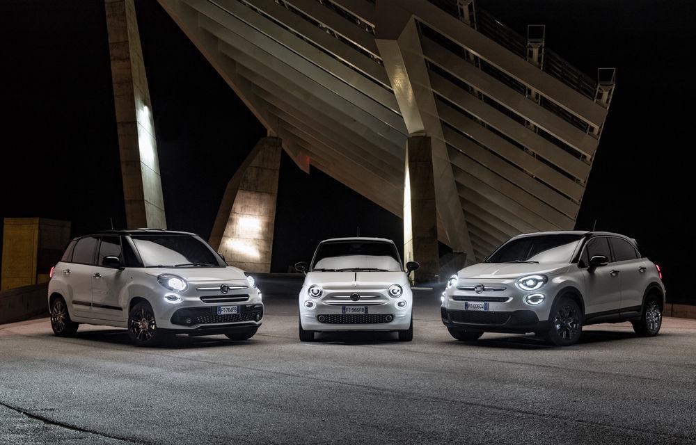 Fiat aniversează 120 de ani de existență: 500, 500X, 500L primesc ediții speciale - Poza 2