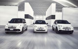 Fiat aniversează 120 de ani de existență: 500, 500X, 500L primesc ediții speciale