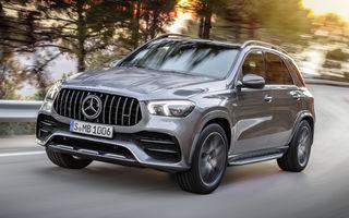 Mercedes-AMG GLE 53 4Matic+: SUV-ul de performanță are motor de 3.0 litri și 435 de cai putere