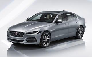 Jaguar XE facelift: sedanul primește elemente de design mai sportive și tehnologii noi