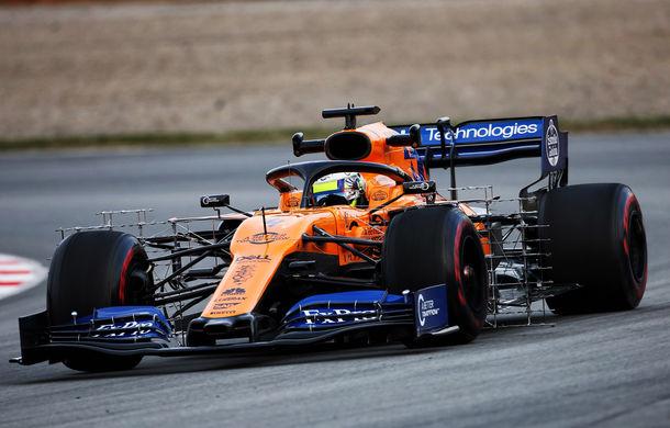 McLaren, cel mai bun timp în prima zi din a doua sesiune de teste de la Barcelona: defecțiuni tehnice pentru Mercedes și Ferrari - Poza 1