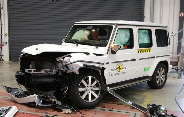 Noi rezultate Euro NCAP: 5 stele pentru Seat Tarraco, Honda CR-V și Mercedes-Benz Clasa G - Poza 22