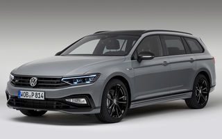 Volkswagen Passat Variant facelift primește o ediție specială: variantă R-Line limitată la 2.000 de unități