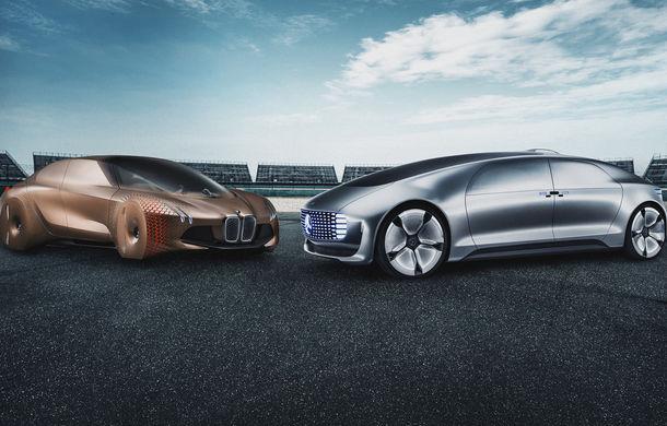 BMW și Mercedes-Benz extind colaborarea: germanii vor să dezvolte împreună tehnologii pentru condus autonom pe autostrăzi - Poza 1