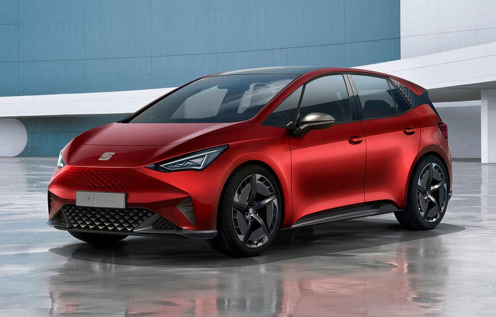 Seat prezintă conceptul el-Born: motor electric de 204 CP și autonomie de până la 420 de kilometri - Poza 1