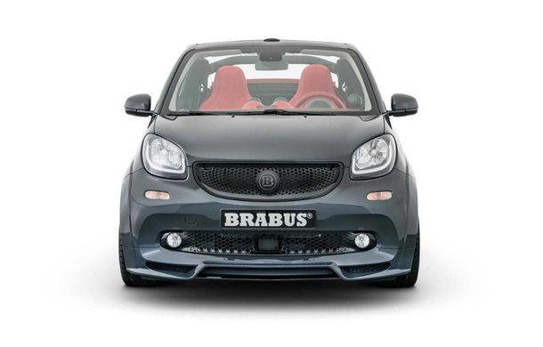 Brabus a pregătit un pachet special pentru EQ ForTwo Cabrio: modelul electric oferă 91 CP și o autonomie de până la 125 de kilometri - Poza 3