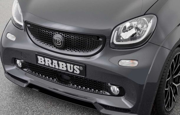 Brabus a pregătit un pachet special pentru EQ ForTwo Cabrio: modelul electric oferă 91 CP și o autonomie de până la 125 de kilometri - Poza 7