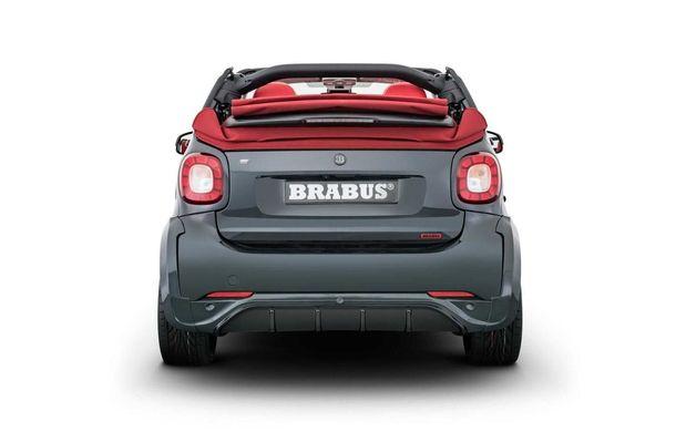 Brabus a pregătit un pachet special pentru EQ ForTwo Cabrio: modelul electric oferă 91 CP și o autonomie de până la 125 de kilometri - Poza 6
