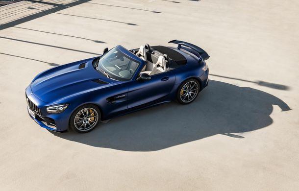 Mercedes-AMG a prezentat noul AMG GT R Roadster: 585 de cai putere și 3.6 secunde pentru sprintul de la 0 la 100 km/h - Poza 7