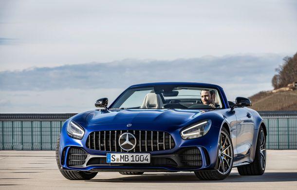 Mercedes-AMG a prezentat noul AMG GT R Roadster: 585 de cai putere și 3.6 secunde pentru sprintul de la 0 la 100 km/h - Poza 10