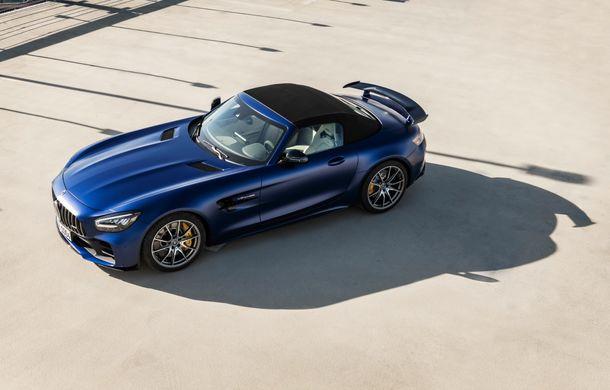 Mercedes-AMG a prezentat noul AMG GT R Roadster: 585 de cai putere și 3.6 secunde pentru sprintul de la 0 la 100 km/h - Poza 8