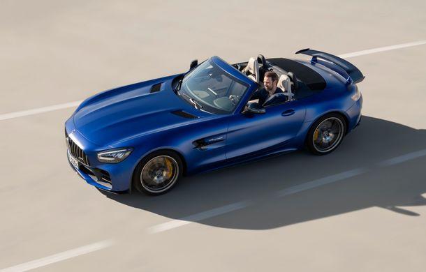 Mercedes-AMG a prezentat noul AMG GT R Roadster: 585 de cai putere și 3.6 secunde pentru sprintul de la 0 la 100 km/h - Poza 9